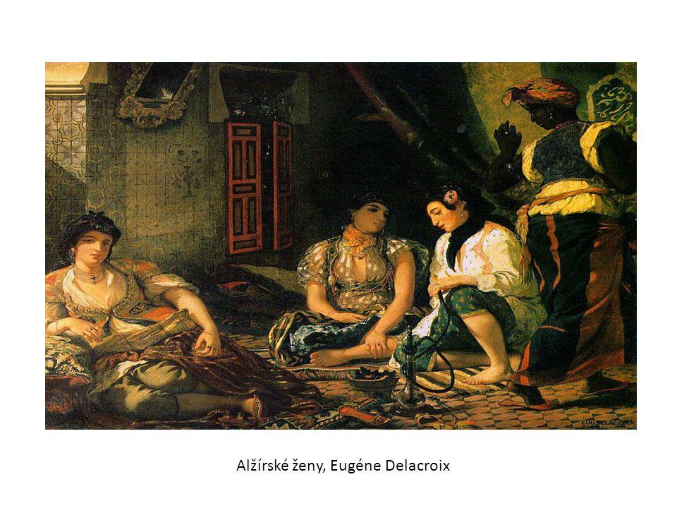 Alžírské ženy, Eugéne Delacroix