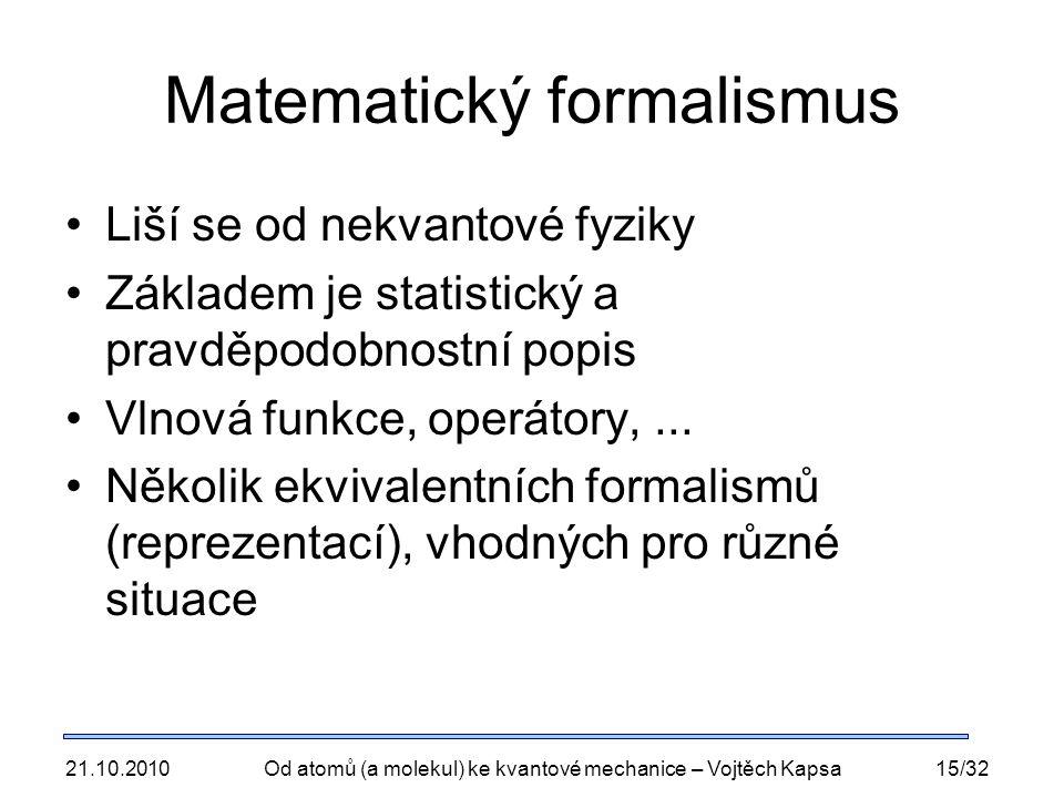 Matematický formalismus