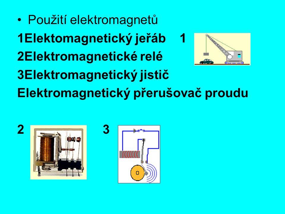 Použití elektromagnetů