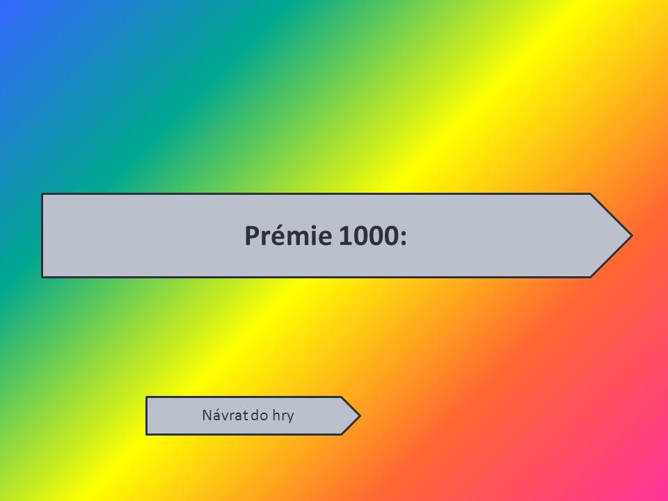 Prémie 1000: Návrat do hry