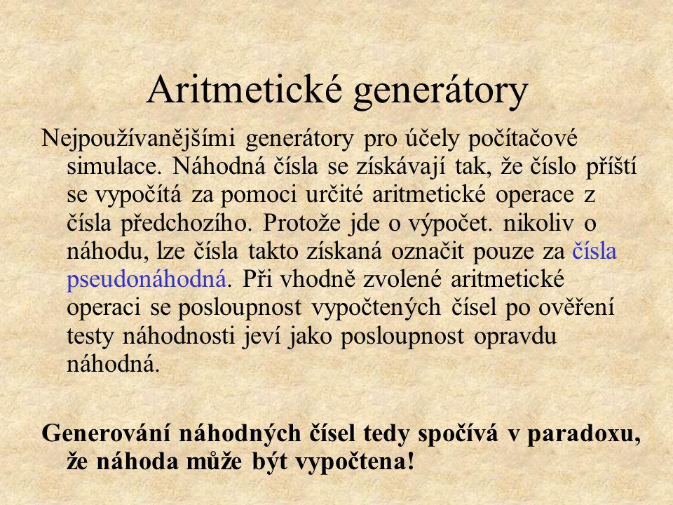 Aritmetické generátory