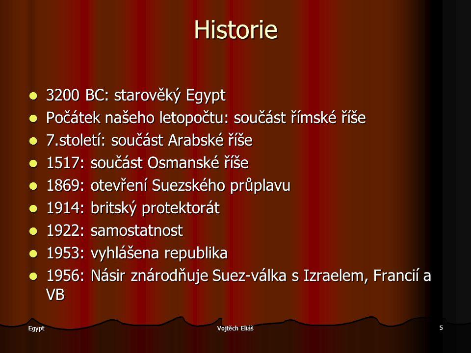 Historie 3200 BC: starověký Egypt