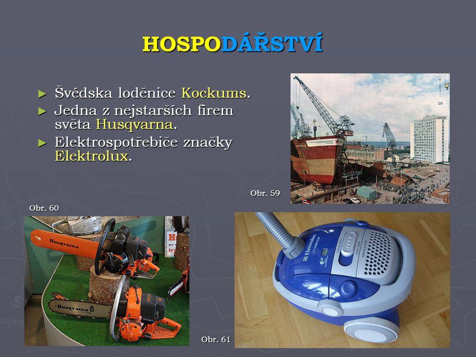 HOSPODÁŘSTVÍ Švédska loděnice Kockums.
