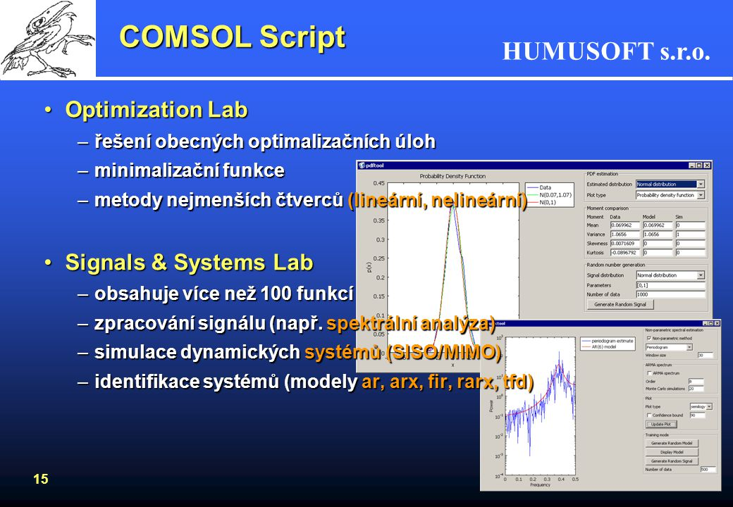 COMSOL Script Optimization Lab Signals & Systems Lab
