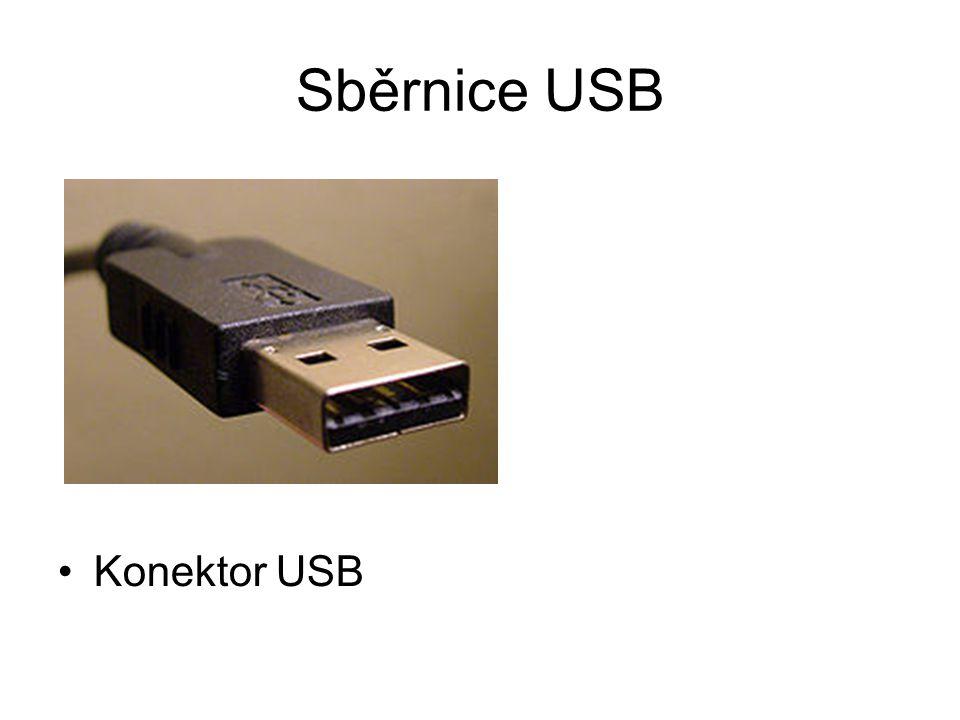 Sběrnice USB Konektor USB