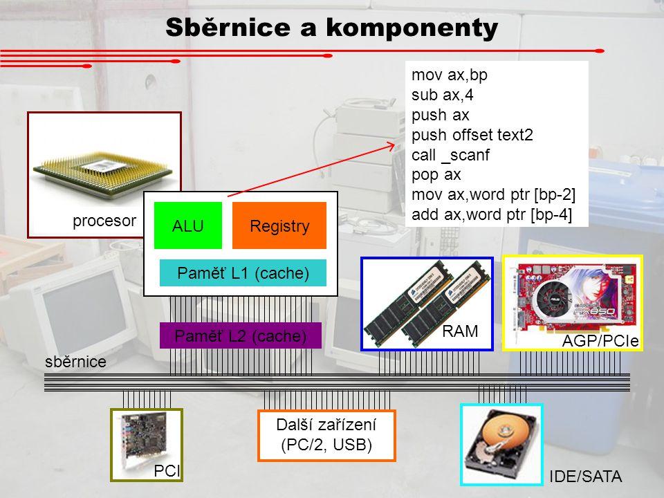 Další zařízení (PC/2, USB)