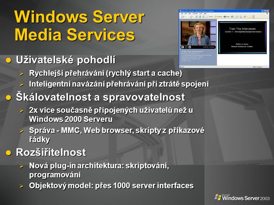 Windows Server Media Services