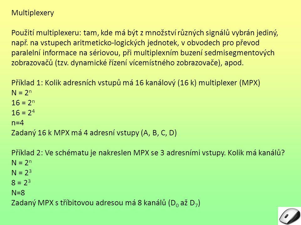 Multiplexery