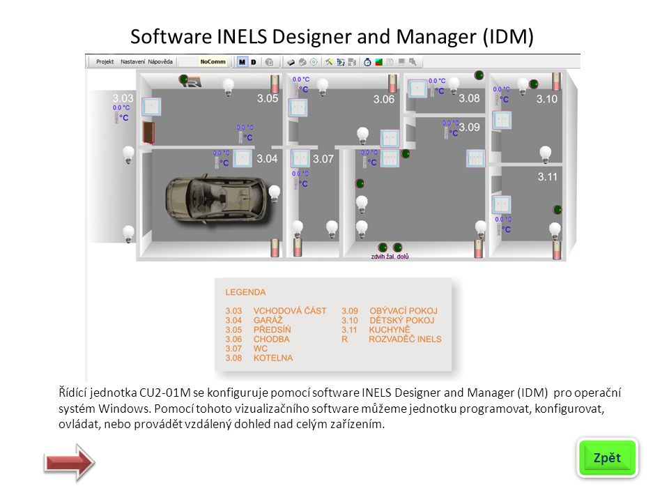 Software INELS Designer and Manager (IDM)