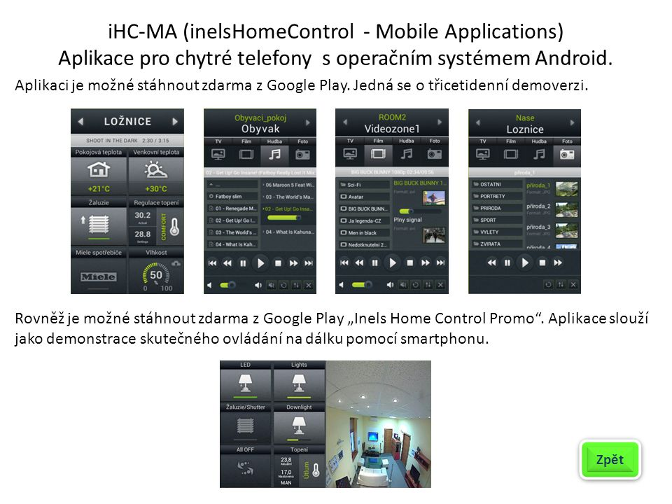 iHC-MA (inelsHomeControl - Mobile Applications)