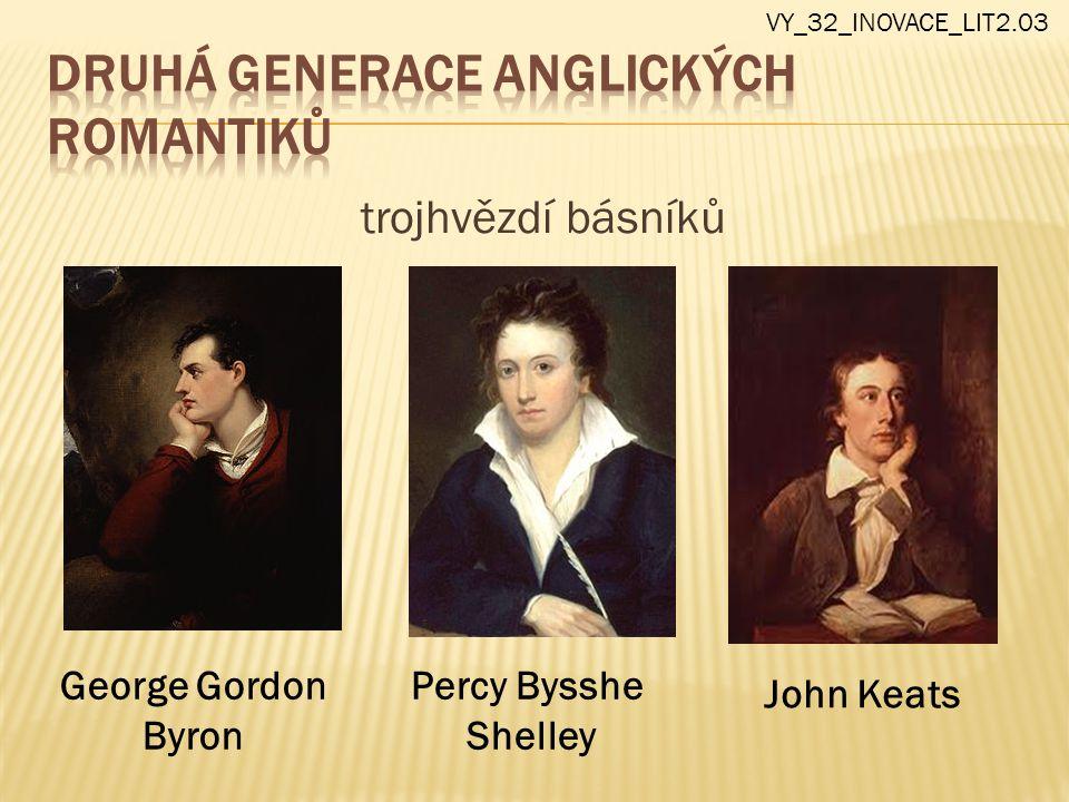 Druhá generace anglických romantiků