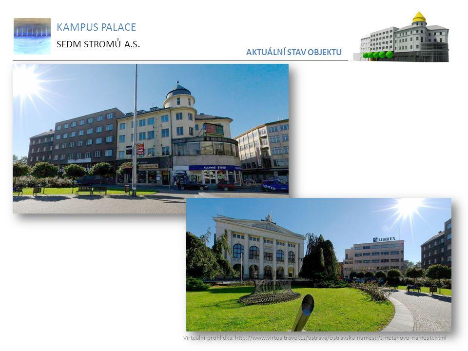 KAMPUS PALACE SEDM STROMŮ A.S. AKTUÁLNÍ STAV OBJEKTU