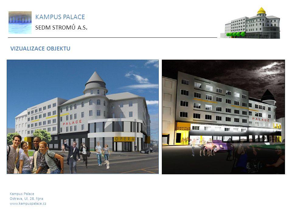 KAMPUS PALACE SEDM STROMŮ A.S. VIZUALIZACE OBJEKTU Kampus Palace