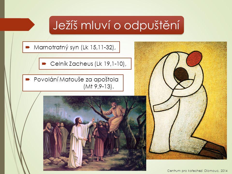 Ježíš mluví o odpuštění