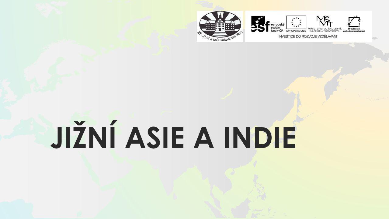 Jižní Asie a indie