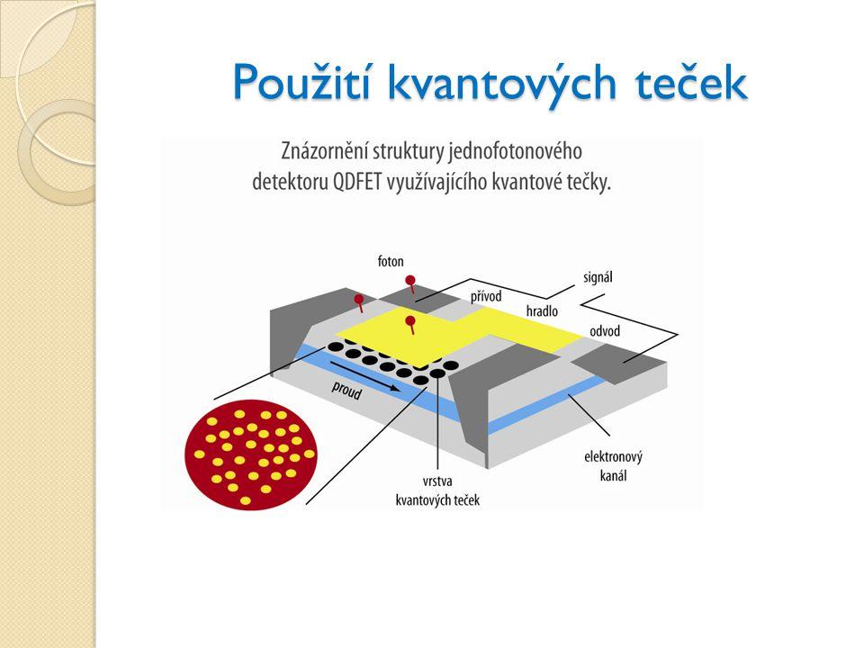 Použití kvantových teček