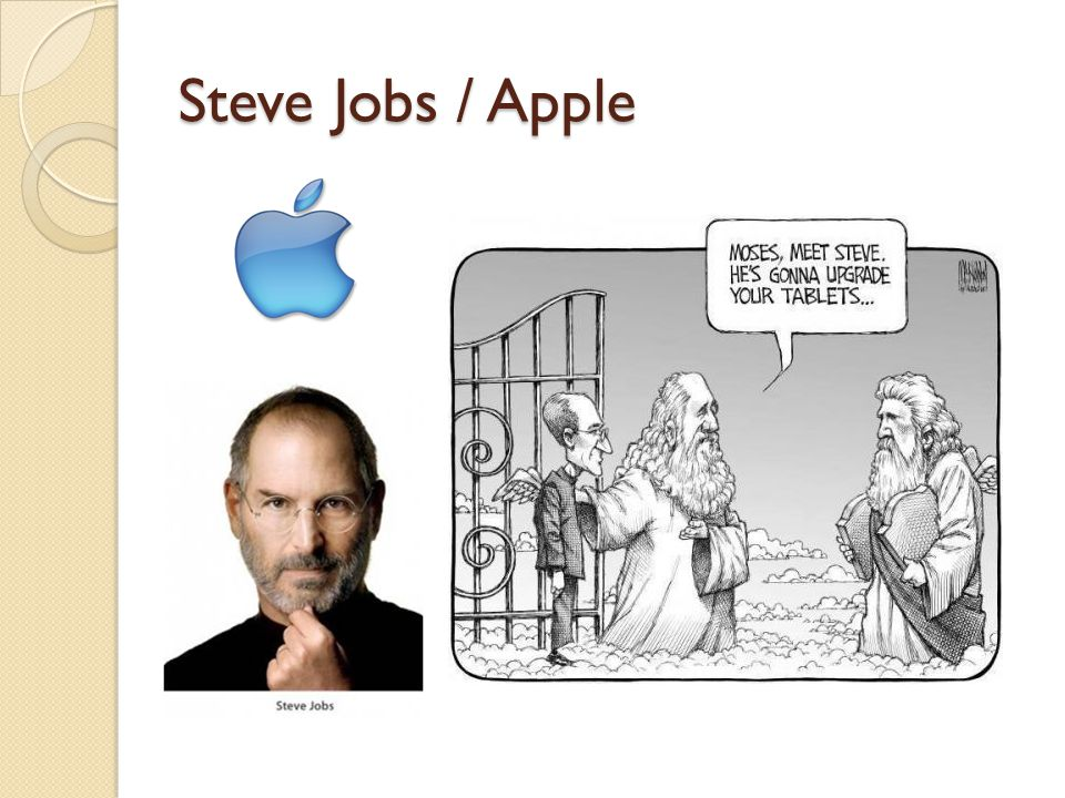 Steve Jobs / Apple