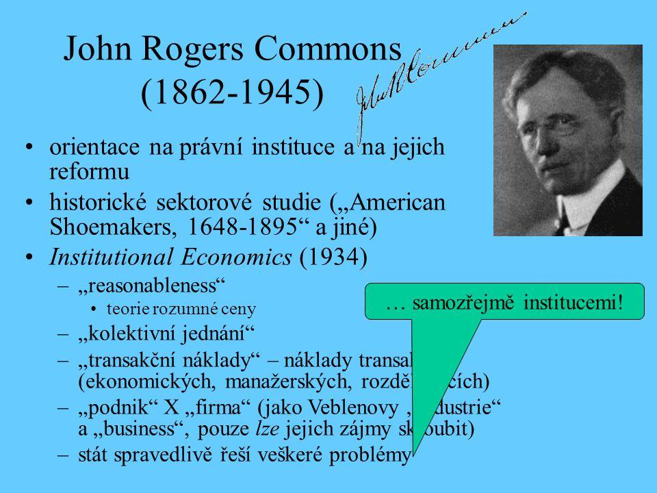 John Rogers Commons (1862-1945)