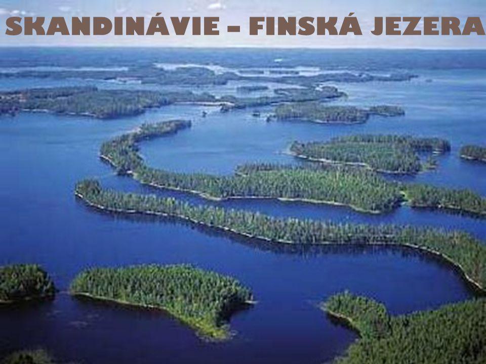 SKANDINÁVIE – FINSKÁ JEZERA