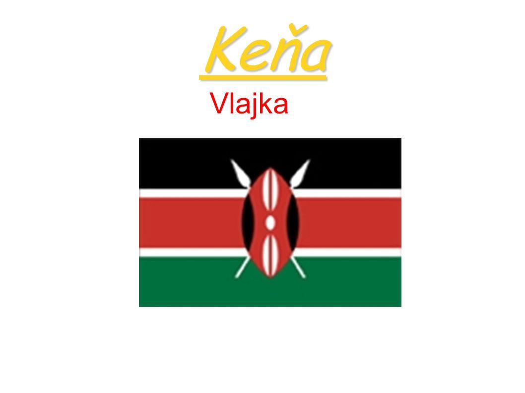 Keňa Vlajka
