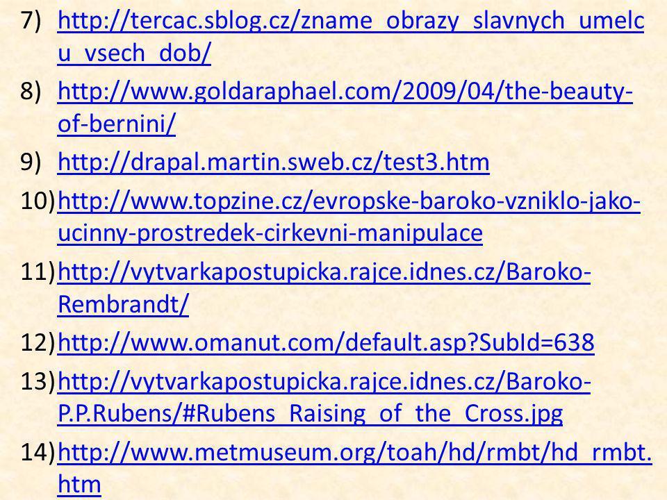http://tercac.sblog.cz/zname_obrazy_slavnych_umelcu_vsech_dob/ http://www.goldaraphael.com/2009/04/the-beauty-of-bernini/