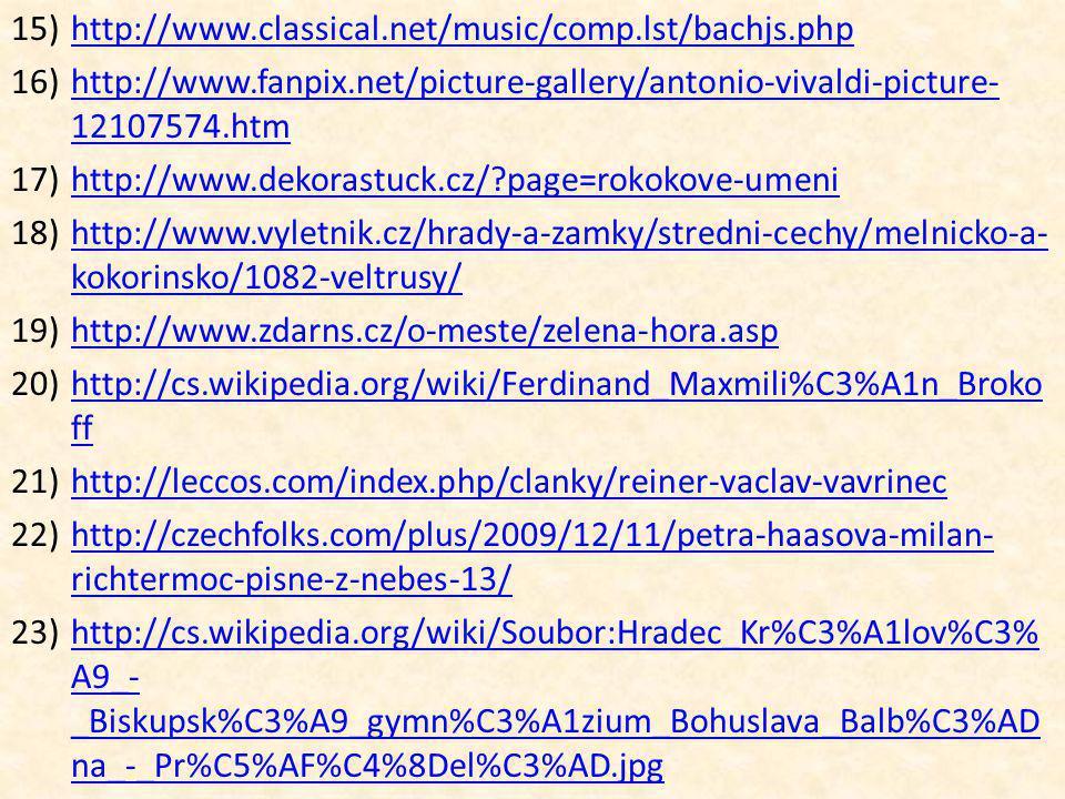 http://www.classical.net/music/comp.lst/bachjs.php http://www.fanpix.net/picture-gallery/antonio-vivaldi-picture-12107574.htm.