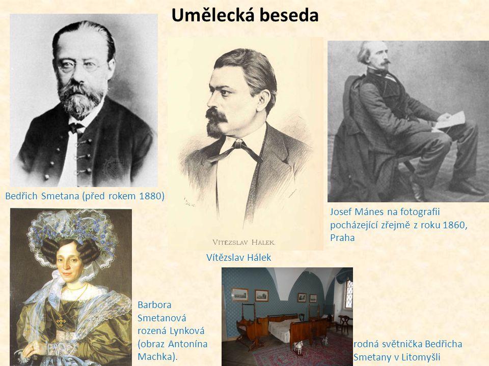 Umělecká beseda Bedřich Smetana (před rokem 1880)