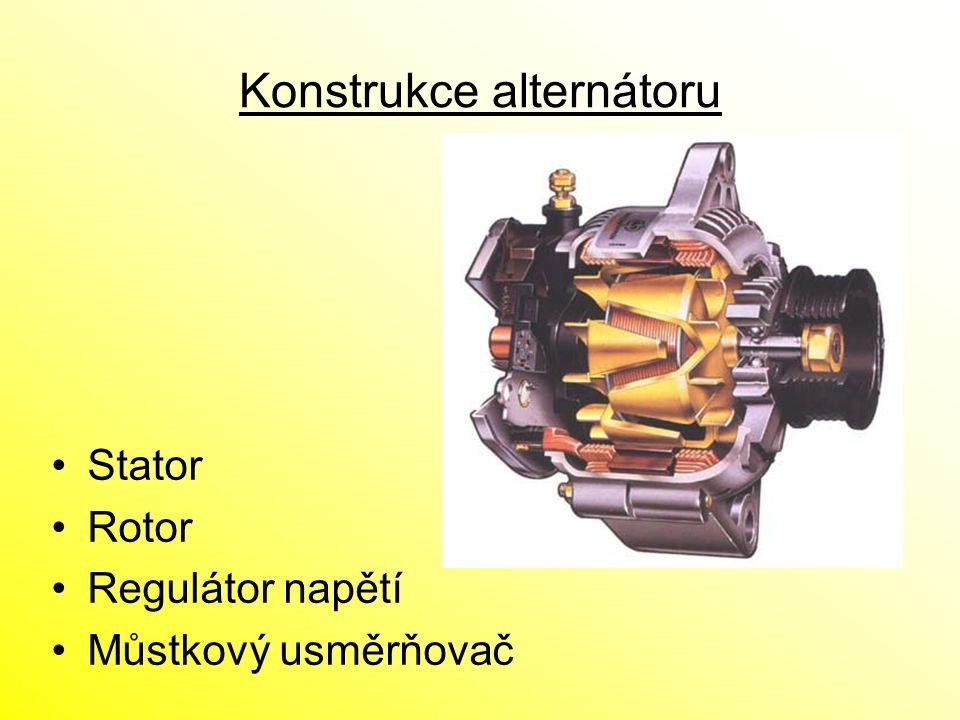 Konstrukce alternátoru