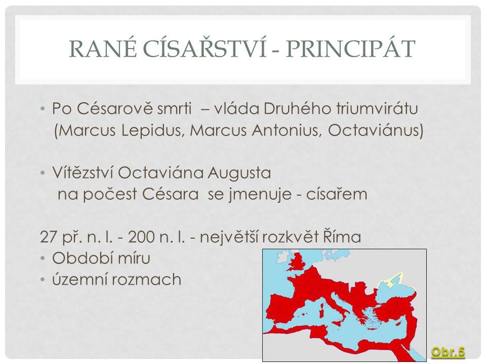Rané císařství - principát