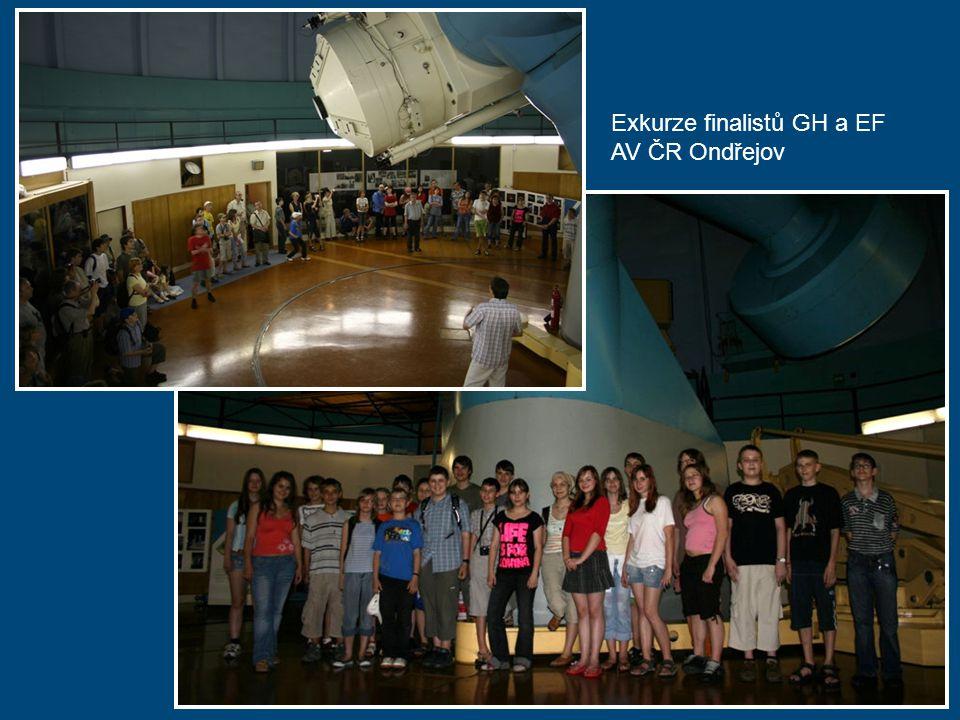 Exkurze finalistů GH a EF