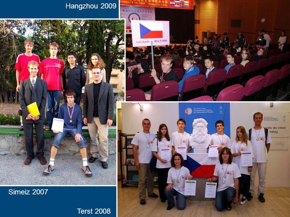 Hangzhou 2009 Simeiz 2007 Terst 2008