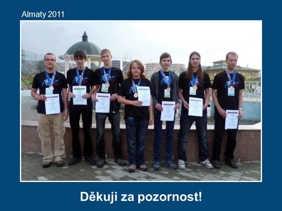 Almaty 2011 Děkuji za pozornost!