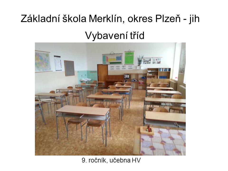 Základní škola Merklín, okres Plzeň - jih