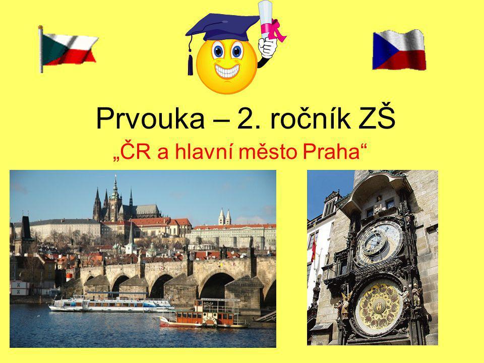 """""""ČR a hlavní město Praha"""