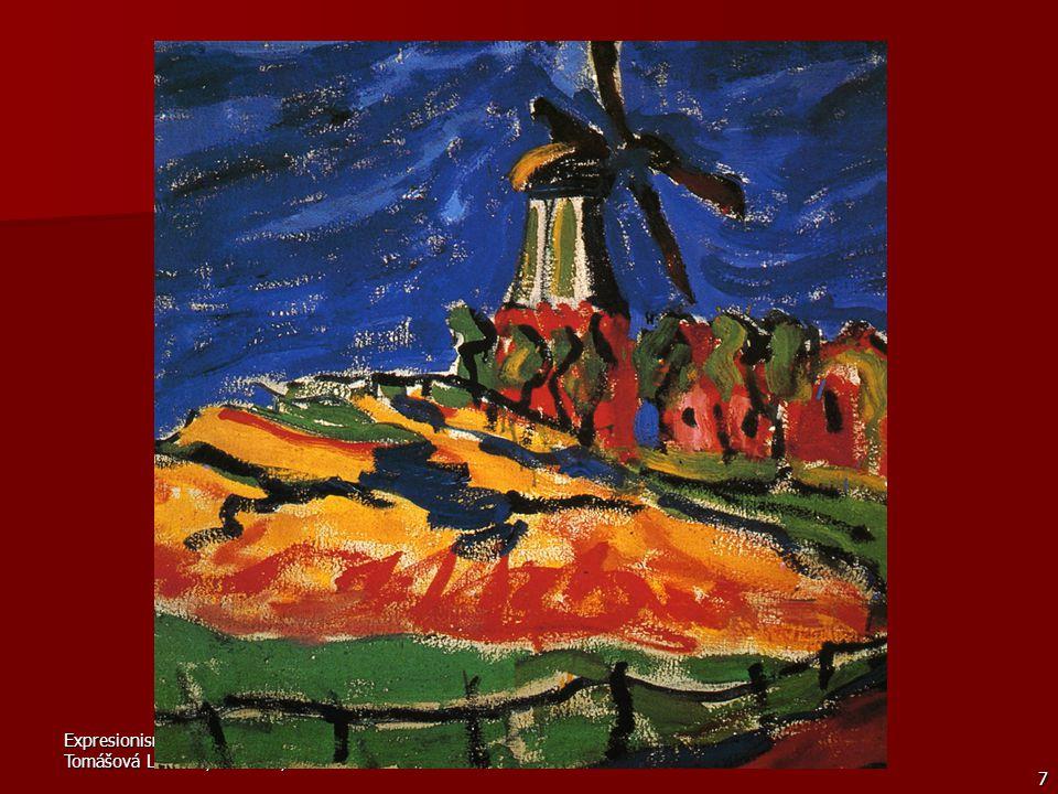 Erich Heckel Maloval s oblibou kompozice z cirkusového a artistického prostředí a vynikl i jako grafik.