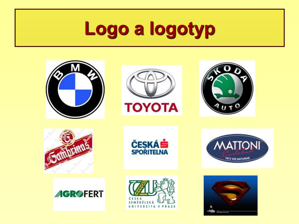 Logo a logotyp