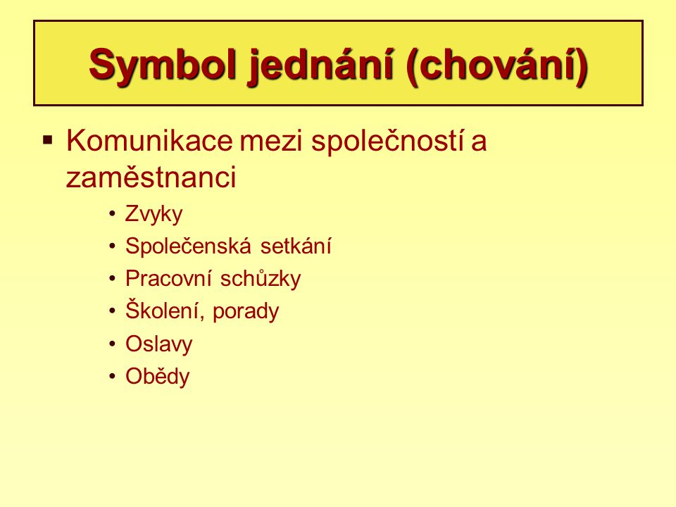 Symbol jednání (chování)