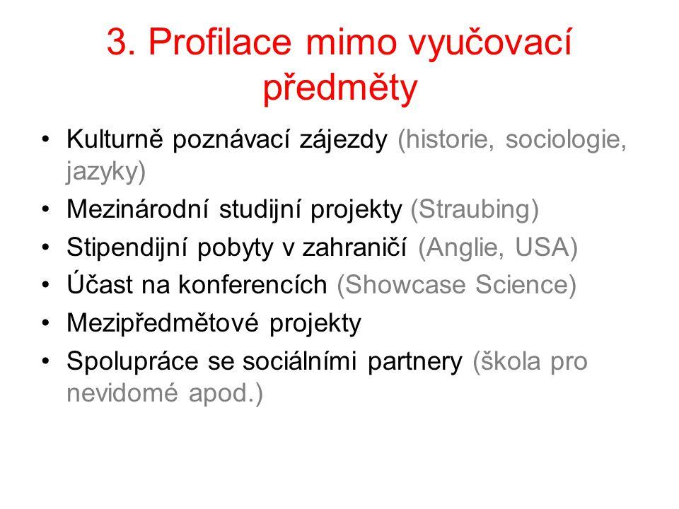 3. Profilace mimo vyučovací předměty