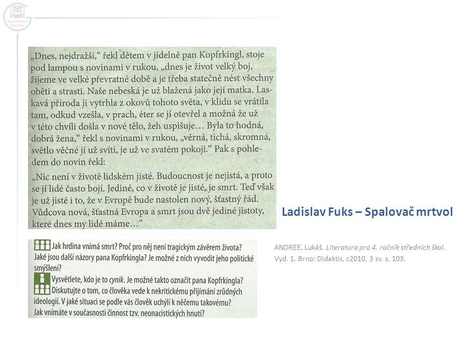 Ladislav Fuks – Spalovač mrtvol