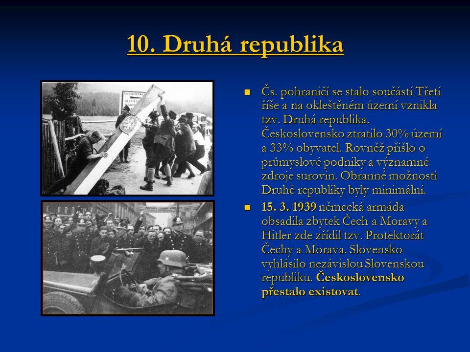 10. Druhá republika