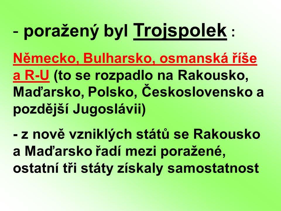poražený byl Trojspolek :