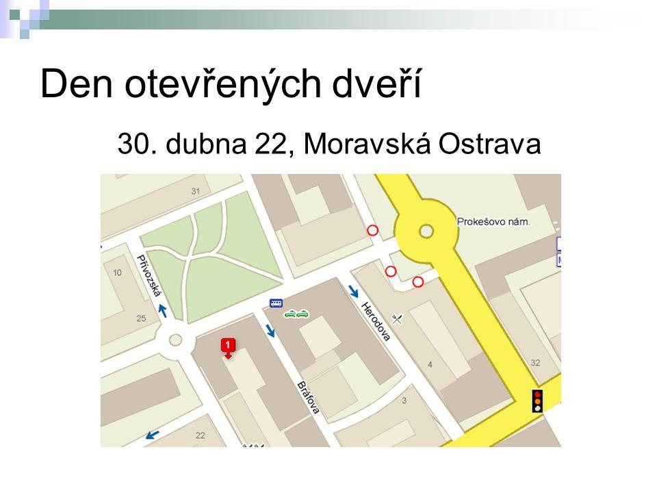 30. dubna 22, Moravská Ostrava