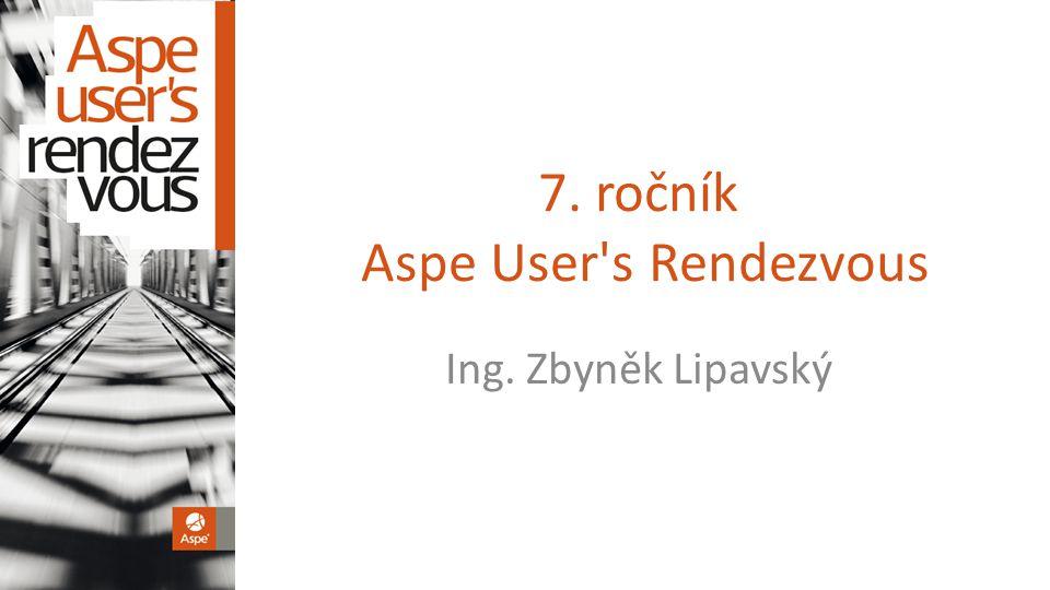 7. ročník Aspe User s Rendezvous