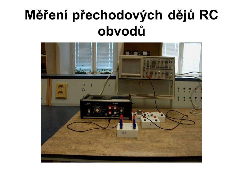 Měření přechodových dějů RC obvodů