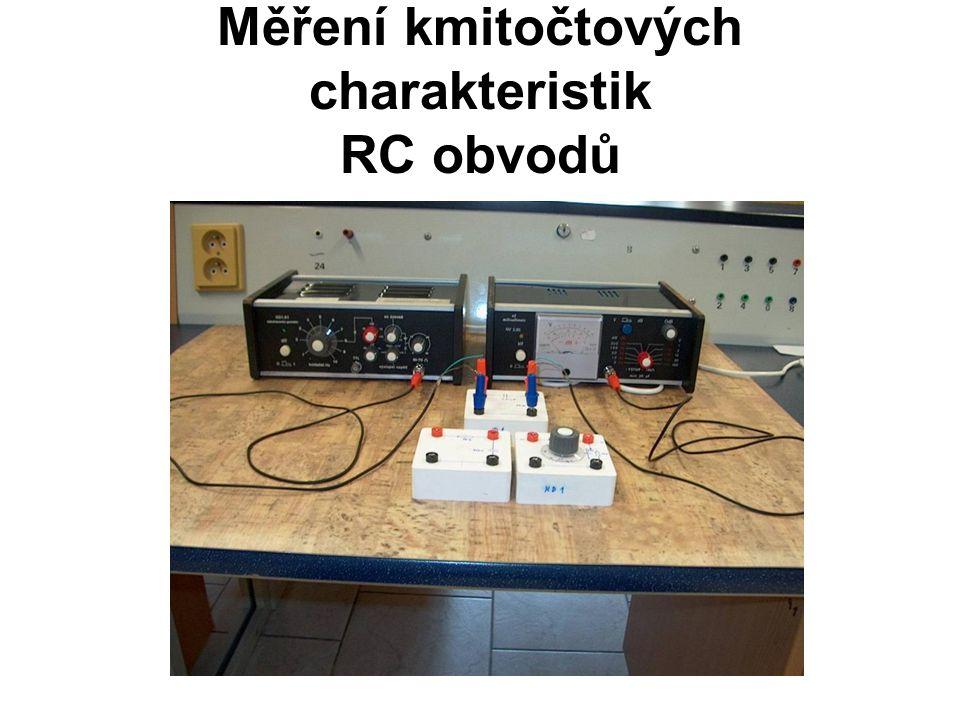 Měření kmitočtových charakteristik RC obvodů