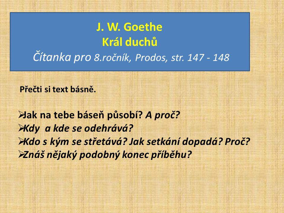 Čítanka pro 8.ročník, Prodos, str. 147 - 148