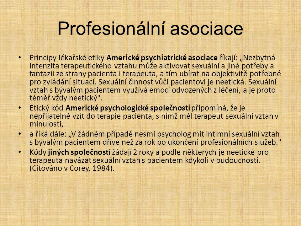 Profesionální asociace