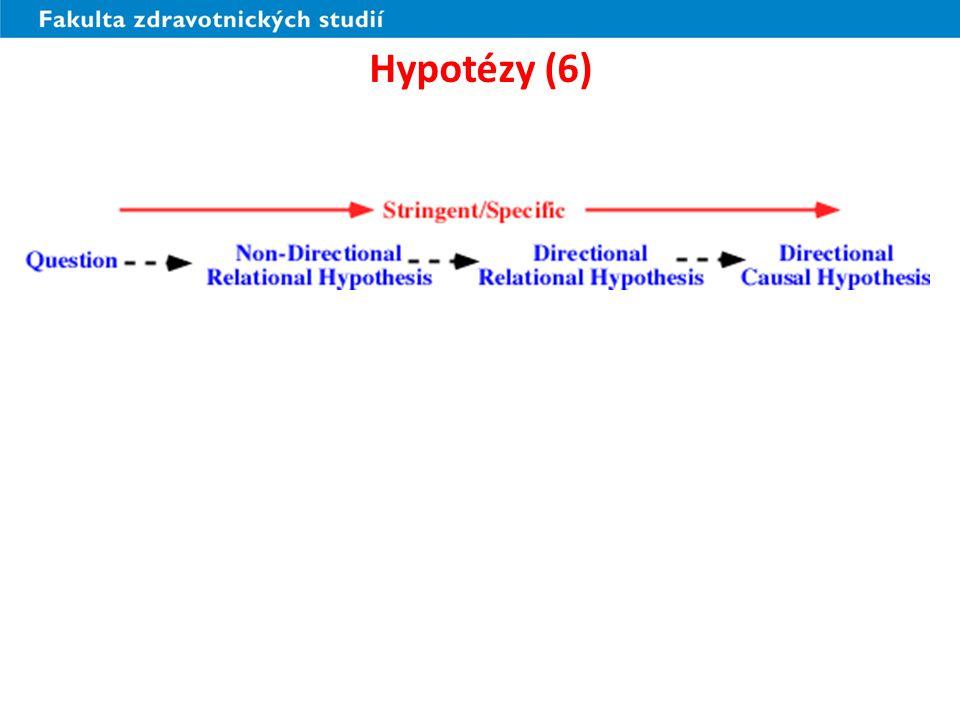 Hypotézy (6)
