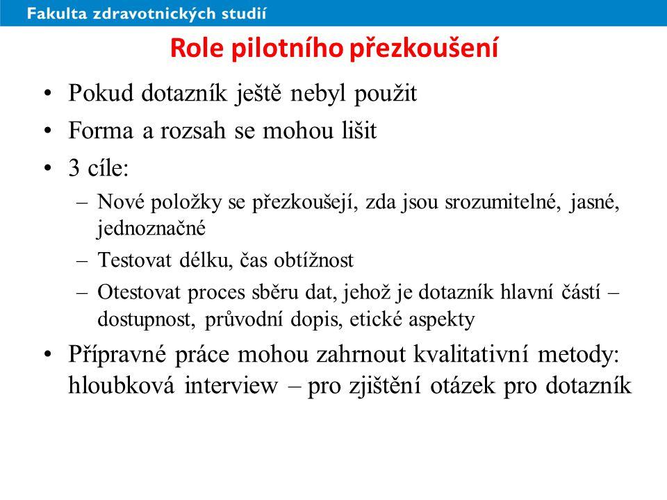 Role pilotního přezkoušení