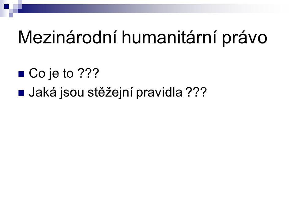 Mezinárodní humanitární právo